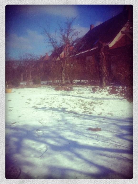 vinter i marts