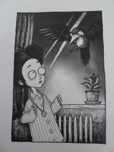 Lille Allan print